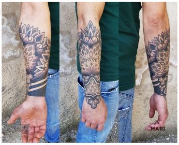Maia Tattoo Tatuaggi Ornamental